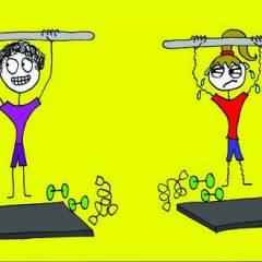 Lifting weights JPG